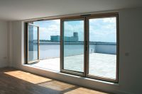 Apartment folding sliding door system the SFK82 as a ...