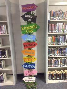Elementary School Library Ideas