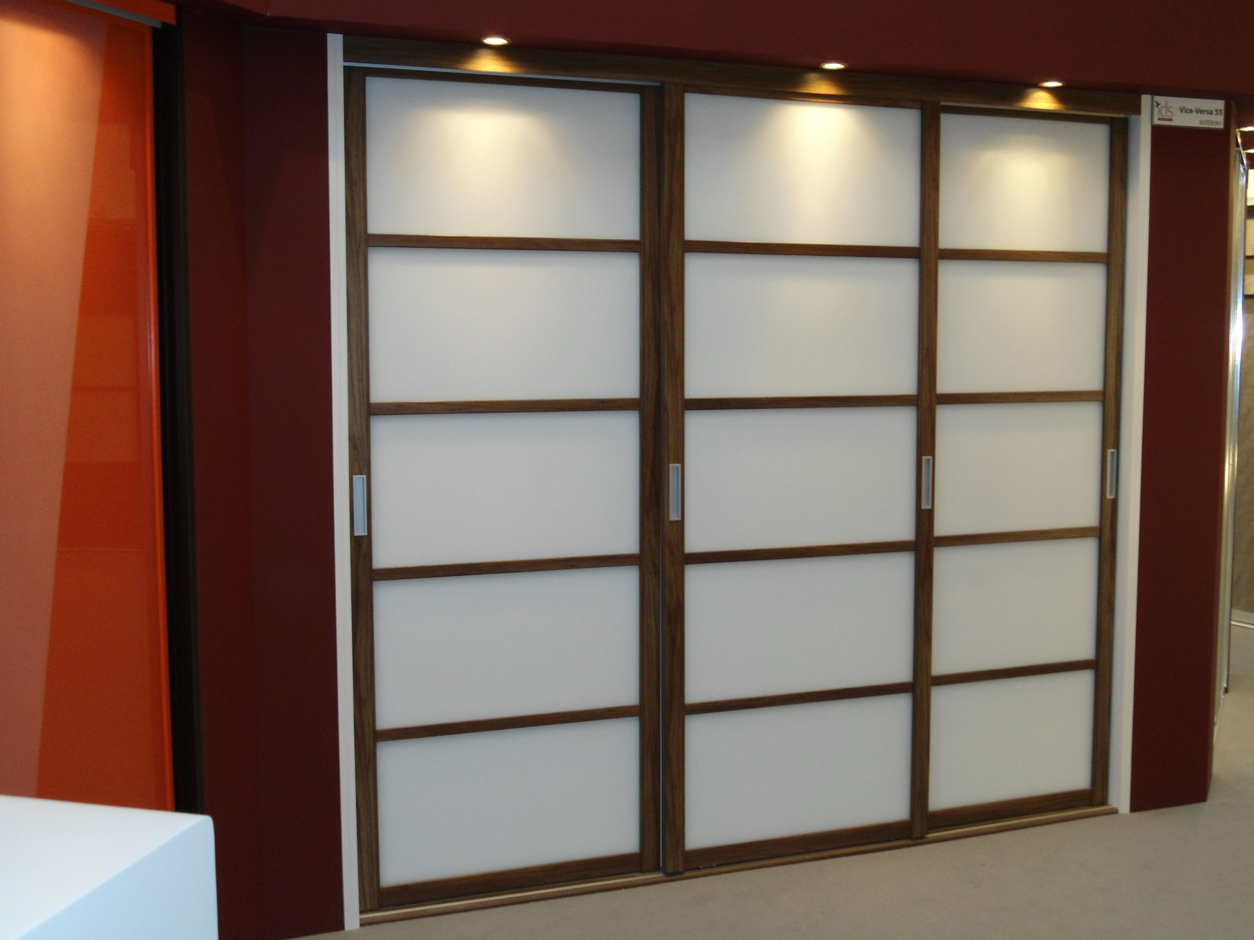 Japanese style sliding bedroom doors