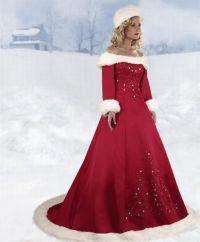 Christmas Wedding Dresses   BEAUTIFUL CHRISTMAS WEDDING ...