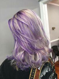 Purple Hair Color Ideas For Blonde Hair | www.pixshark.com ...