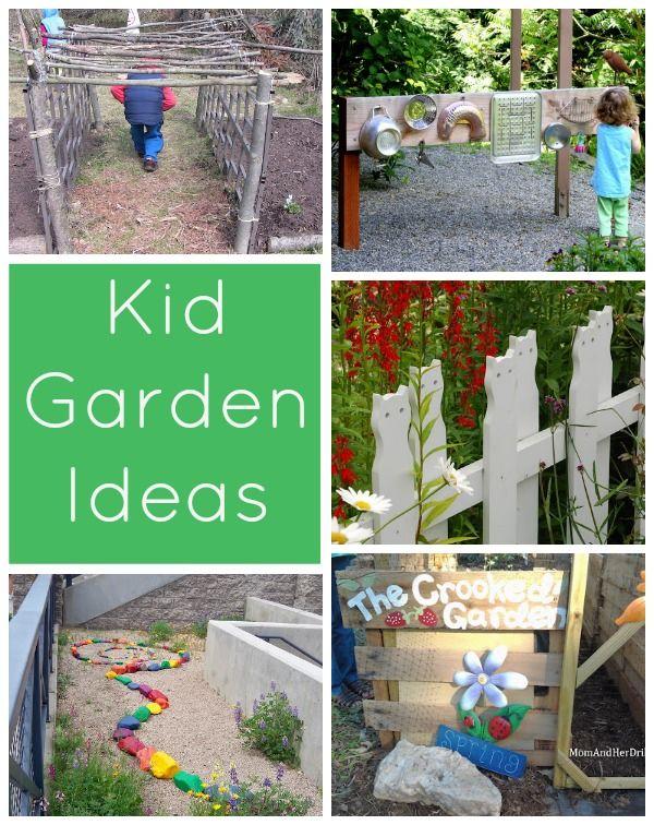 Spring Has Sprung Kid Garden Ideas Gardens Creative And Backyards