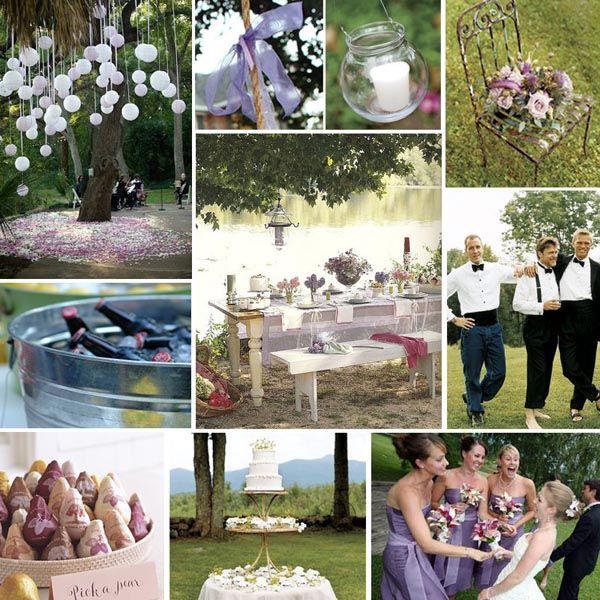Outdoor Garden Wedding Decoration Ideas The Gardening