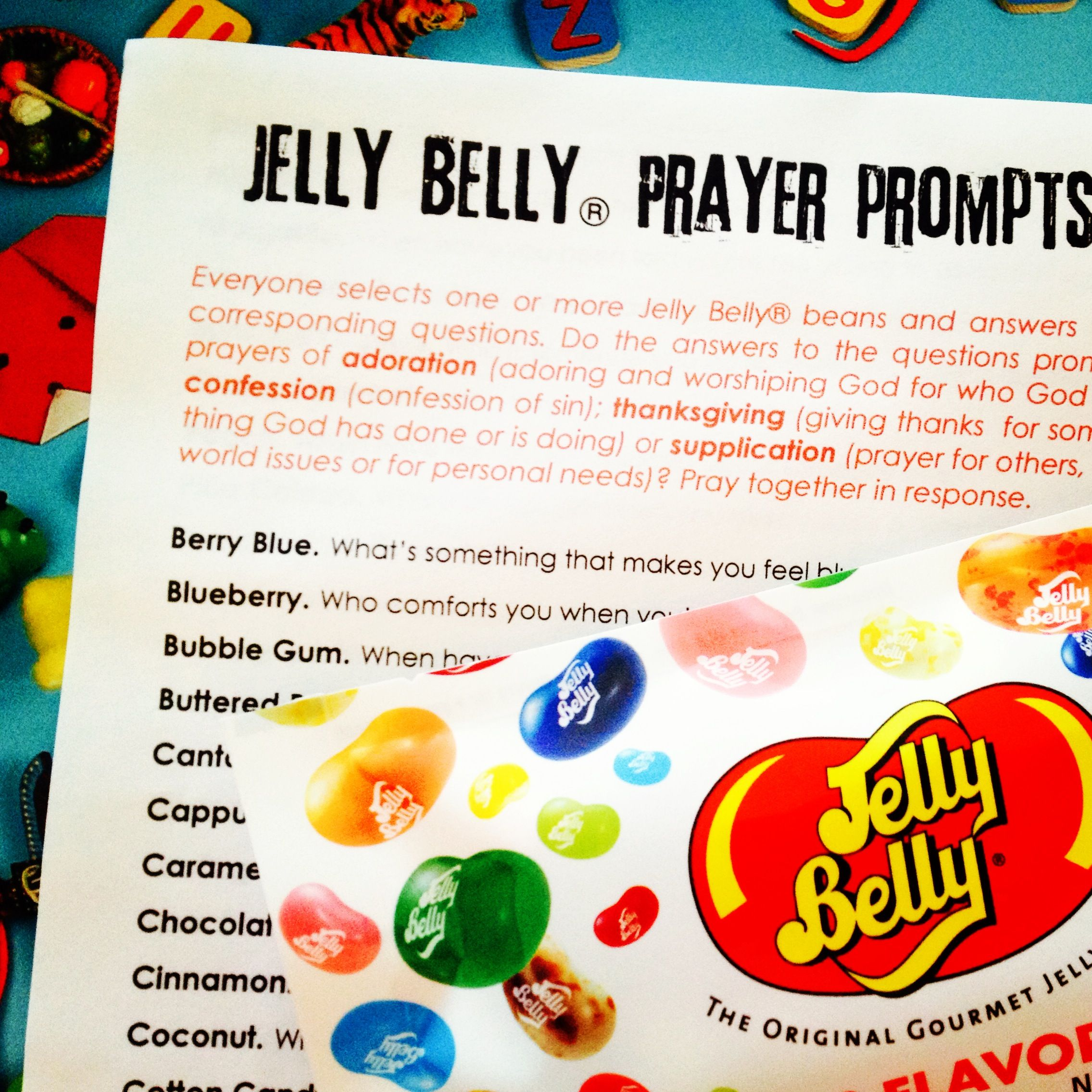 50 Days Of Easter 50 Jelly Belly Prayer Prompts Great Site For Lent