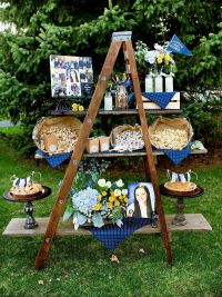 outdoor graduation party decoration ideas | comunion ana ...