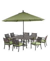 Madison Outdoor Patio Furniture, 9 Piece Dining Set (64 ...
