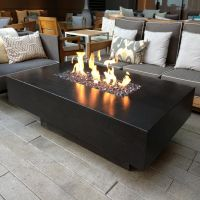 outdoor propane fire pit table | Decks | Pinterest ...