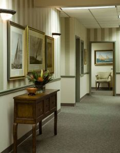 Clubhouse and commercial design also this hallway is complete with grey carpeted floors  patterned arm rh pinterest