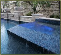Glass Pool Tile | Pool | Pinterest | Glass pool, Tile ...