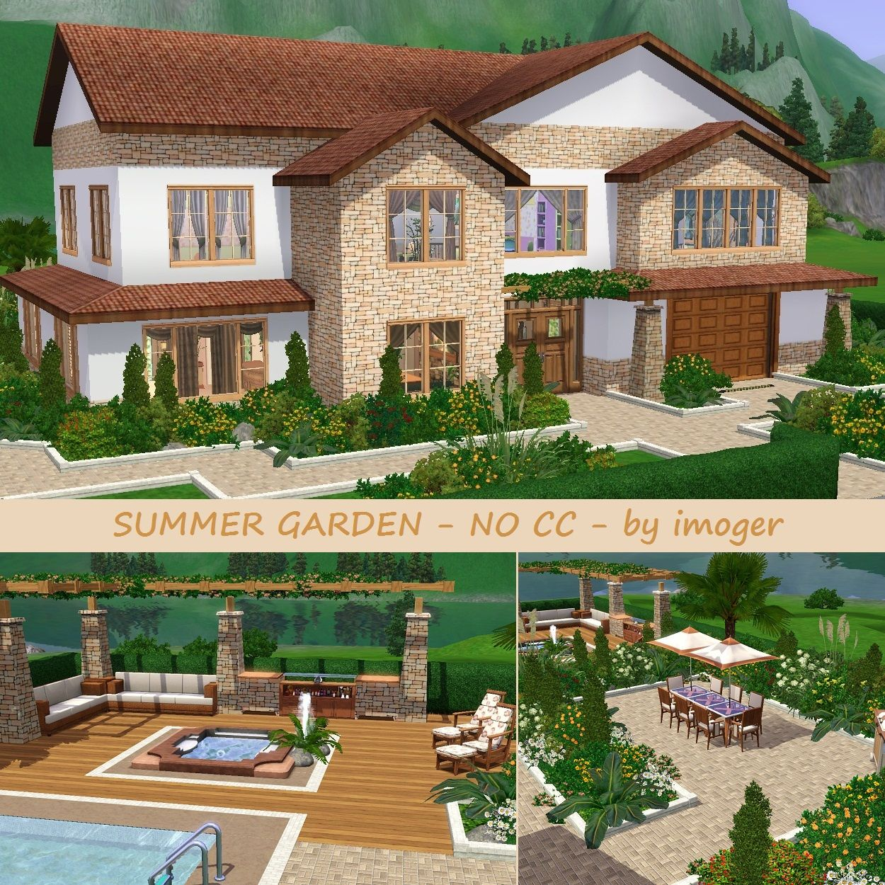 Sims 3 Family Houses Google Search Sims Pinterest Family