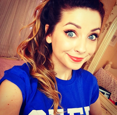 Her Hair Her Eyes Just Her Zoe Sugg Zoella Zoella