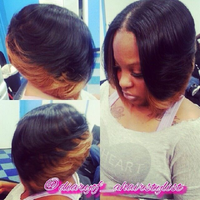 Two Toned Bob SHORTY DOs! Pinterest Bobs Nice And Ombre Bob