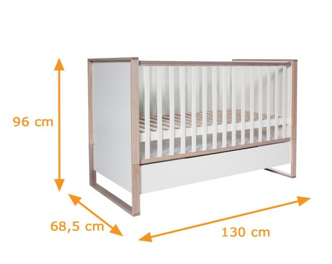 Natura Collection Cot Bed Dimensions
