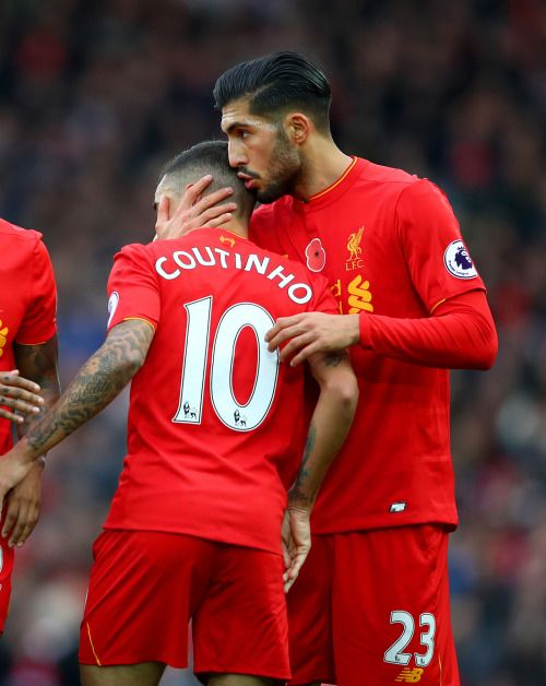 Philippe Coutinho And Emre Can Liverpool FC Love The Beautiful