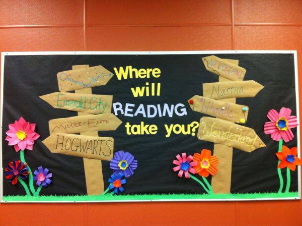 Classroom Bulletin Boards Library