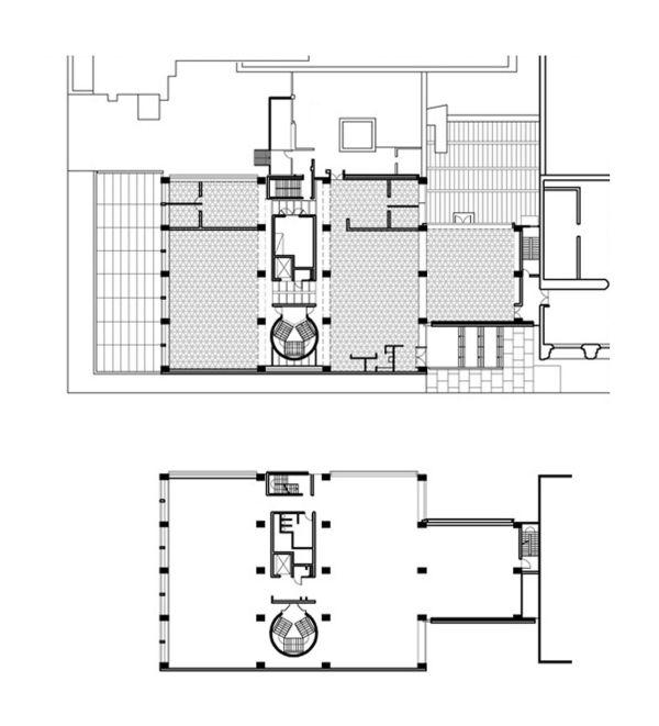 Yale University Art Gallery Louis Kahn Plan