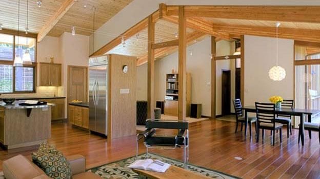 Custom Interior Designs By Acorn Deck House California