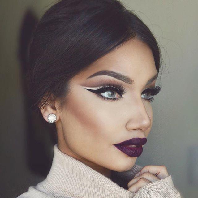 women in heavy makeup | Makeupview.co