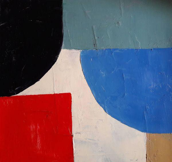 Minimalist Abstract Landscape Paintings