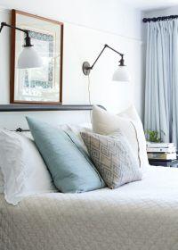 Reading light sconces over bed | Bedroom Ideas | Pinterest ...