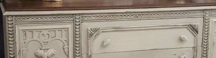 Plain Old Brown Jacobean Buffet To Beautiful Buffet Jacobean Paint Furniture And Chalk Pai