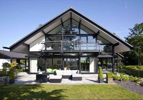 Five Bedroom Modernist Huf Haus In Burcot Near Bromsgrove