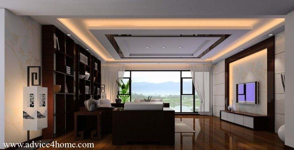 living room design high ceiling photo  1  great room