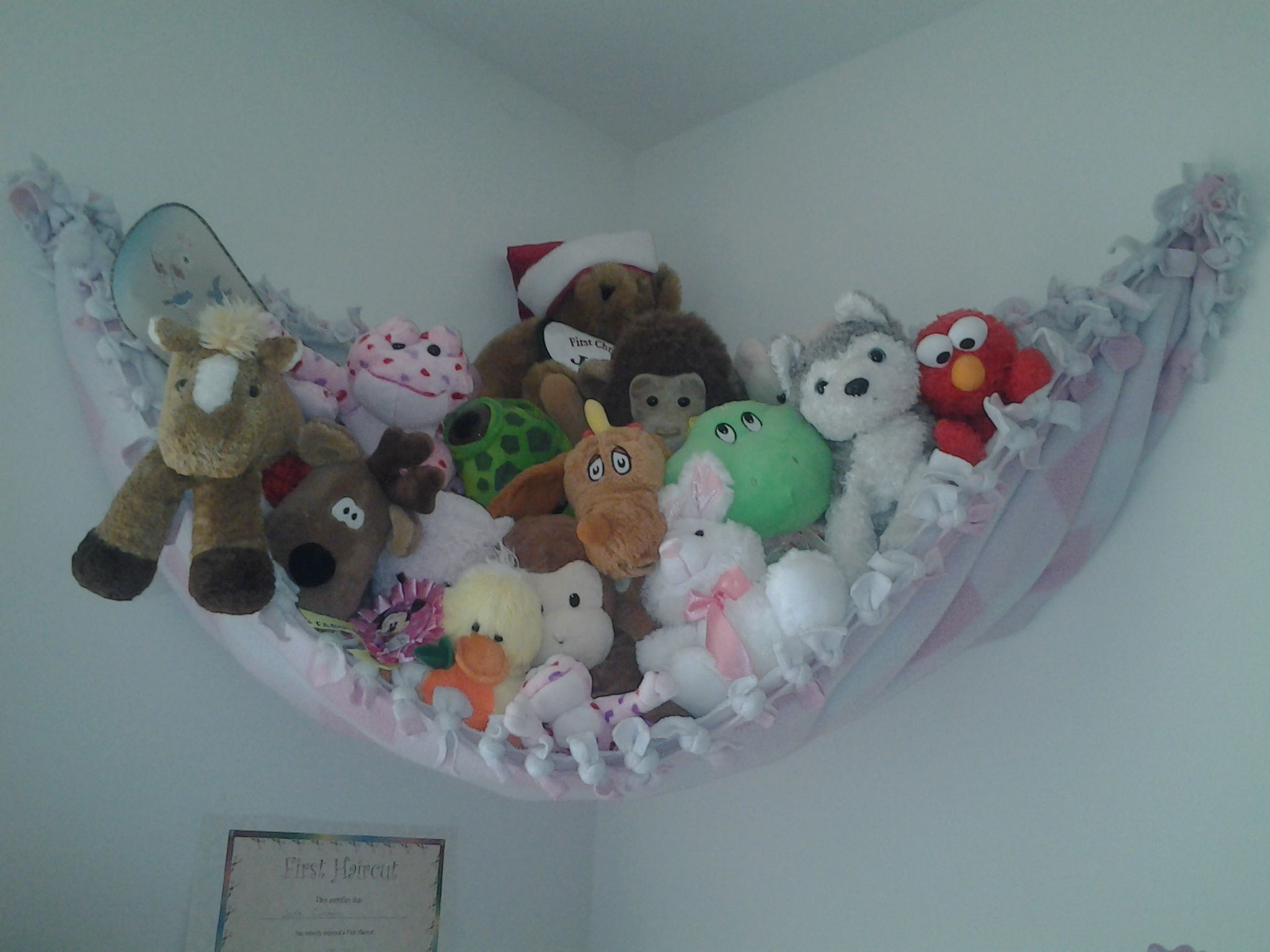 Quick Way To Store And Display Stuffed Animals