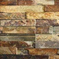 Slate Tile Accent Wall | rusty slate ledgestone category ...