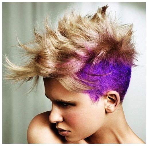 Mohawk Hairstyles For Women With Short And Long Hair Totally