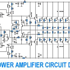 2000w Power Amplifier Circuit Diagram Fender Precision Lyte Wiring Free 2sc5200 2sa1943 500watt 700w With