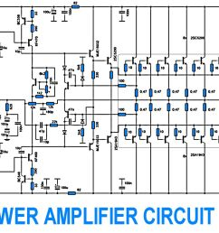 2sc5200 2sa1943 500watt amplifier circuit diagram [ 1600 x 905 Pixel ]