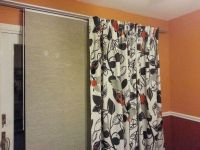 Finally decided on my kitchen sliding door curtains ...