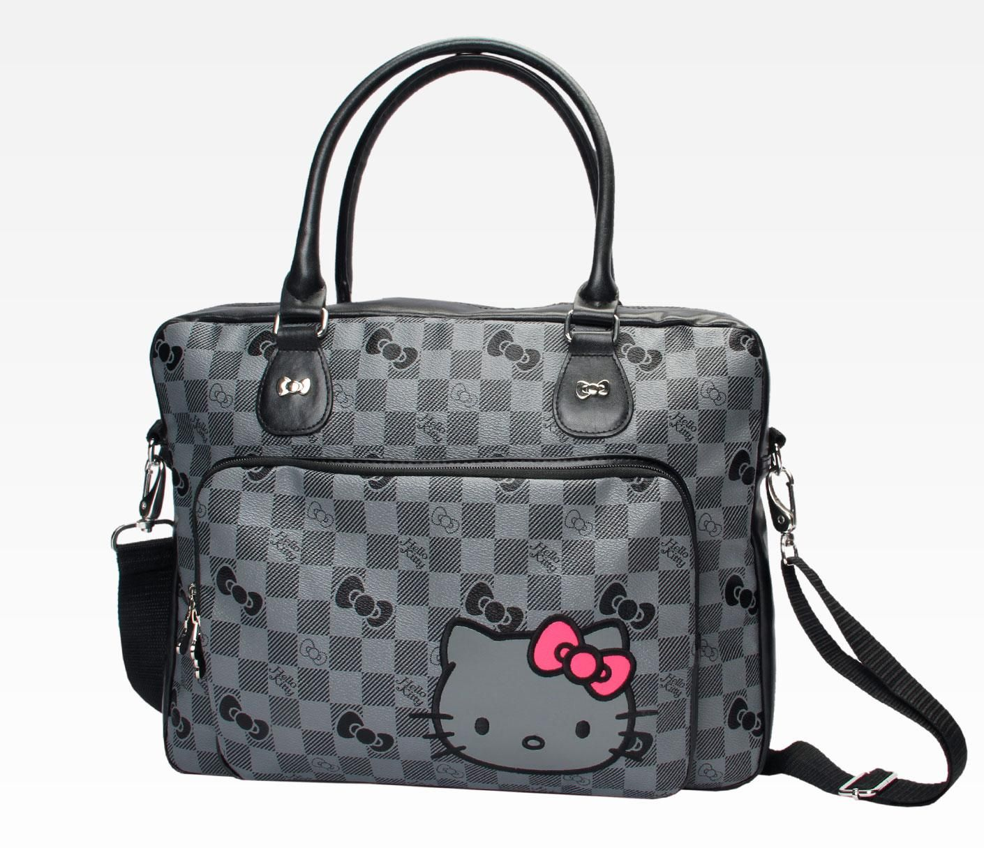 Hello Kitty Laptop Carry Case Grid In Accessories