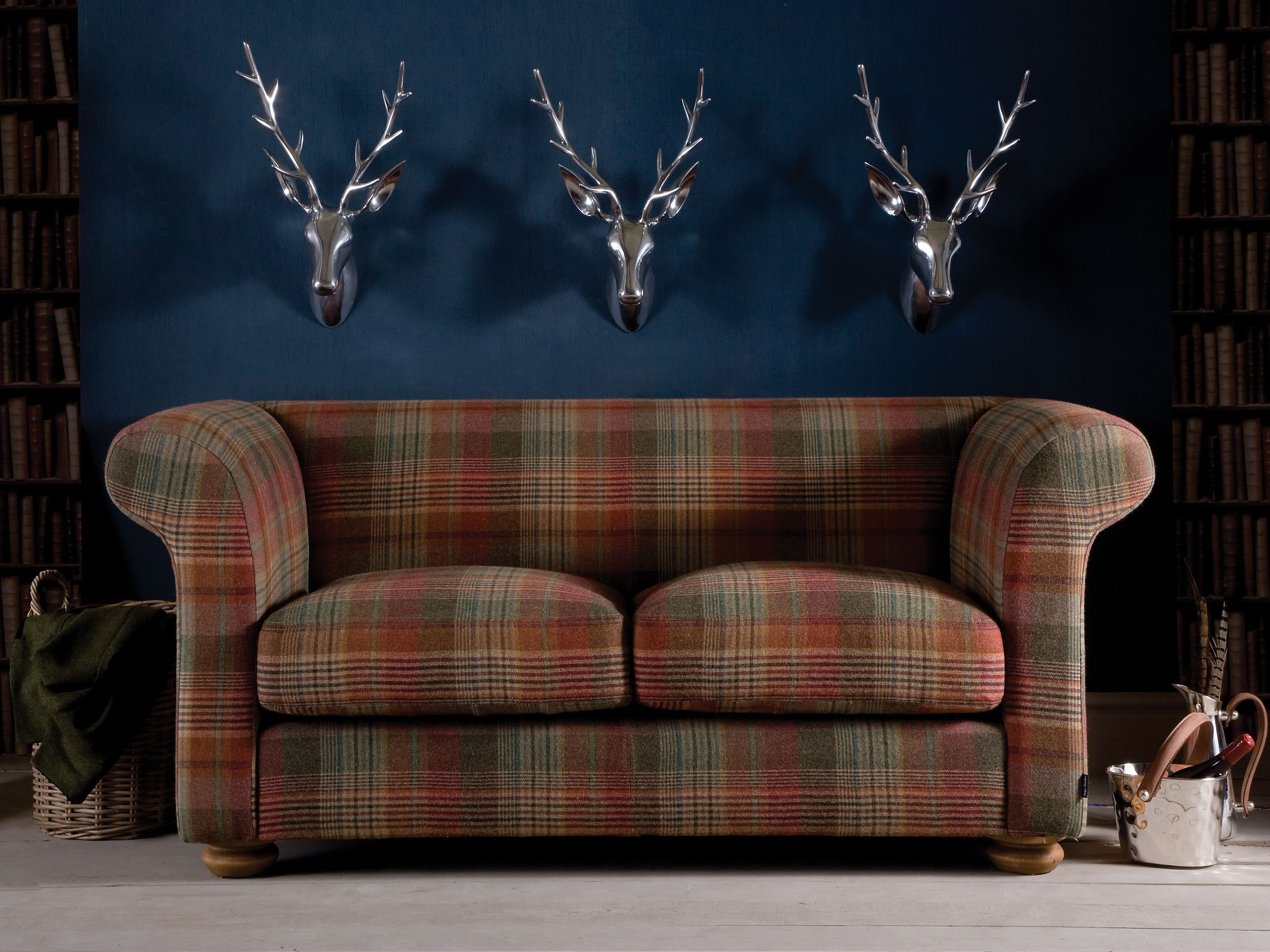 tartan chesterfield sofa discounted sofas photo gallery of