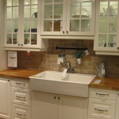 Drop In Farmhouse Kitchen Sinks Wholesale Towels Love This Apron Front Sink And Butcher Block