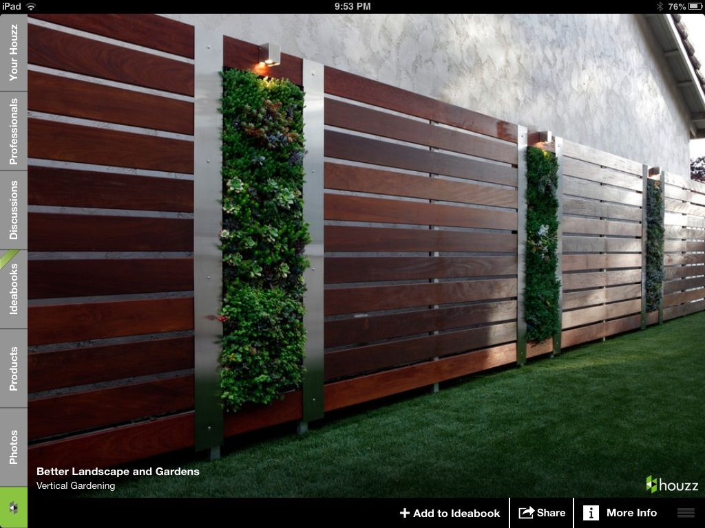 Interesting Way Of Covering A Plain Exterior Wall In Front Add 3