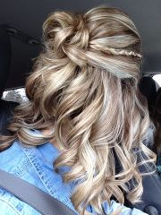 prom hair 2015. curly braid