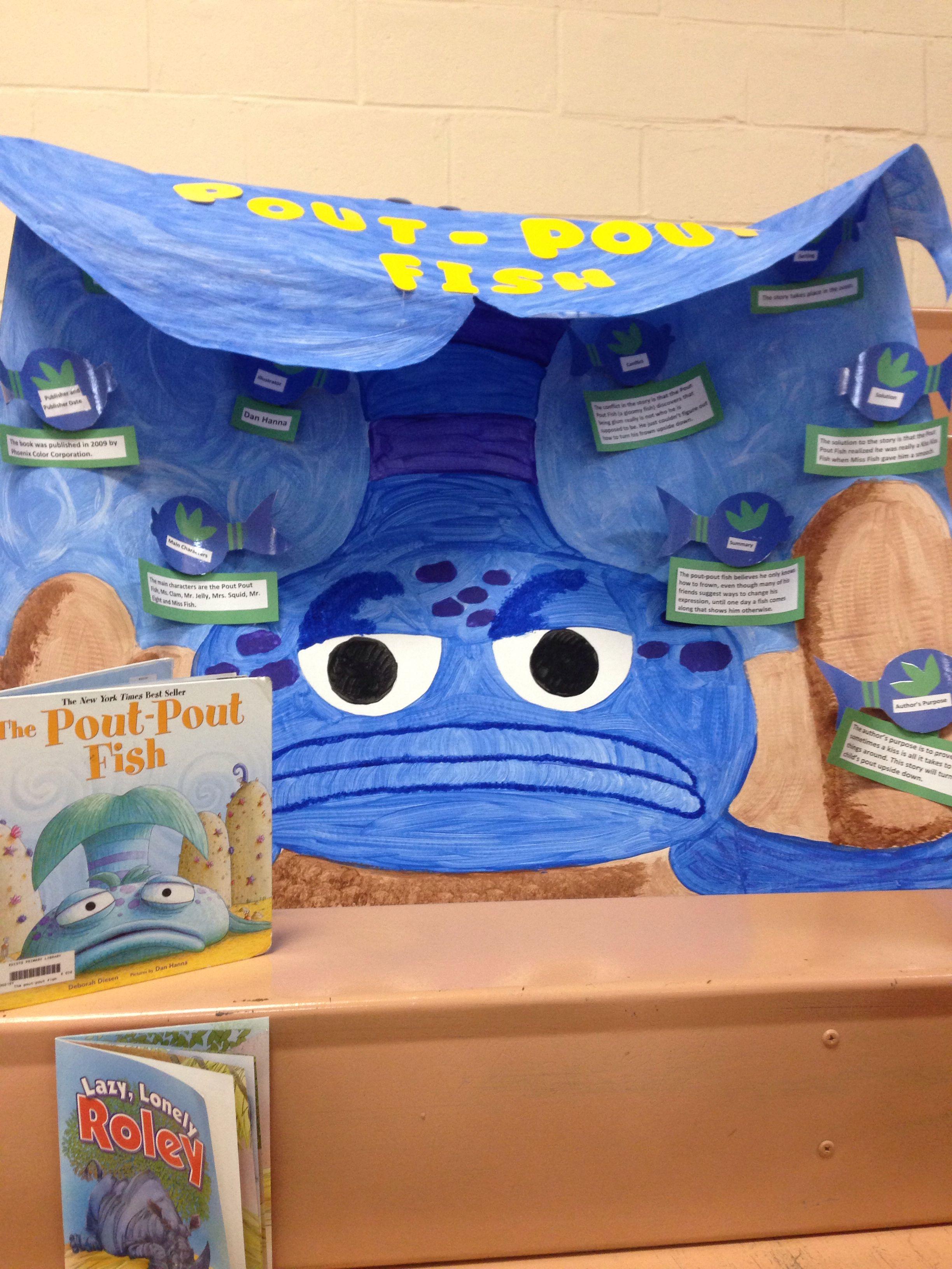 Pout Pout Fish Reading Fair