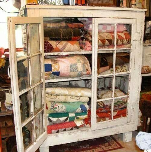 Primitive quilt cabinet  Places and Things I Love