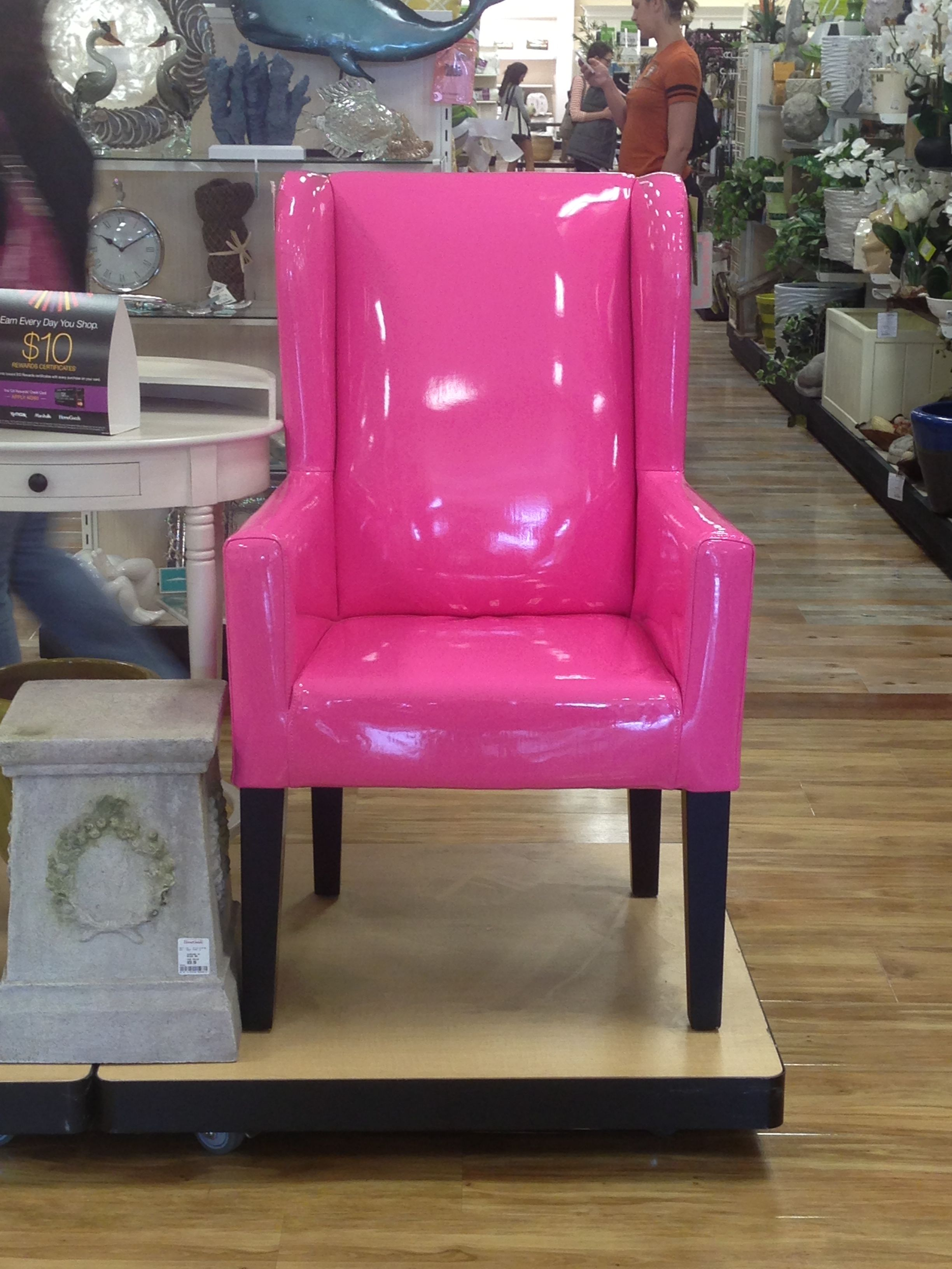 chair covers home goods hanging briscoes pink after shopping i went to the car
