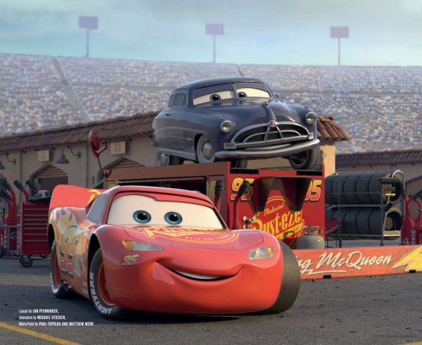 Art Of Cars 3 Disney Desenhos Animados Divers Filme