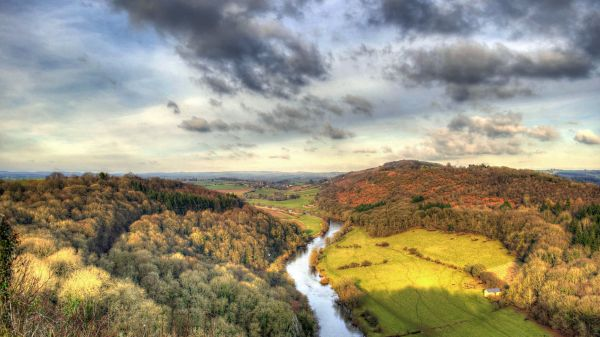 Landscape English Countryside