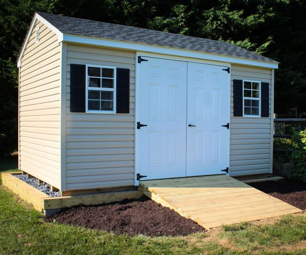 20 Landscaping Around Storage Building Houses Pictures And Ideas On
