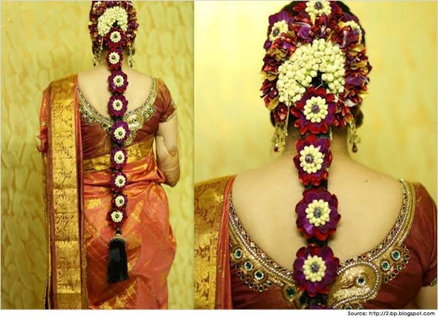 South Indian Bridal Hairstyle For Engagement #BridalHairstyle