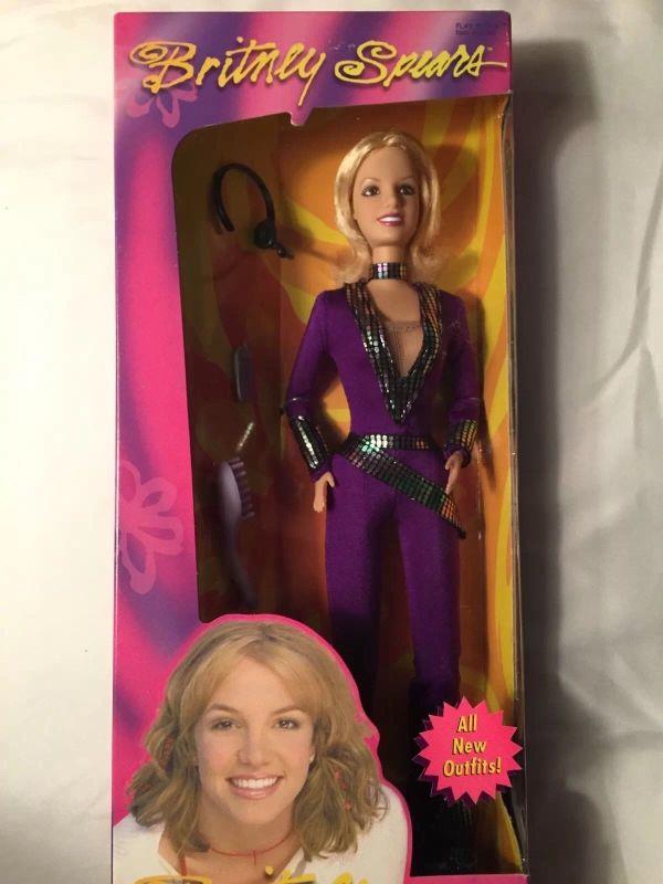 Britney Spears Purple Jumpsuit Doll