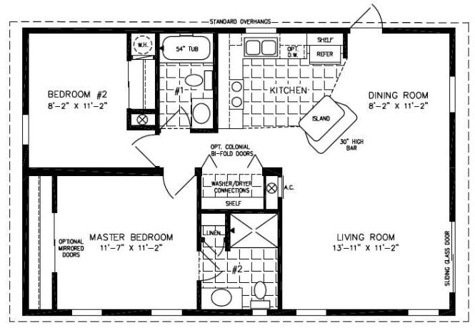 Mobile Home Blueprints 3 Bedrooms Single Wide 71 Of Double Manufactured