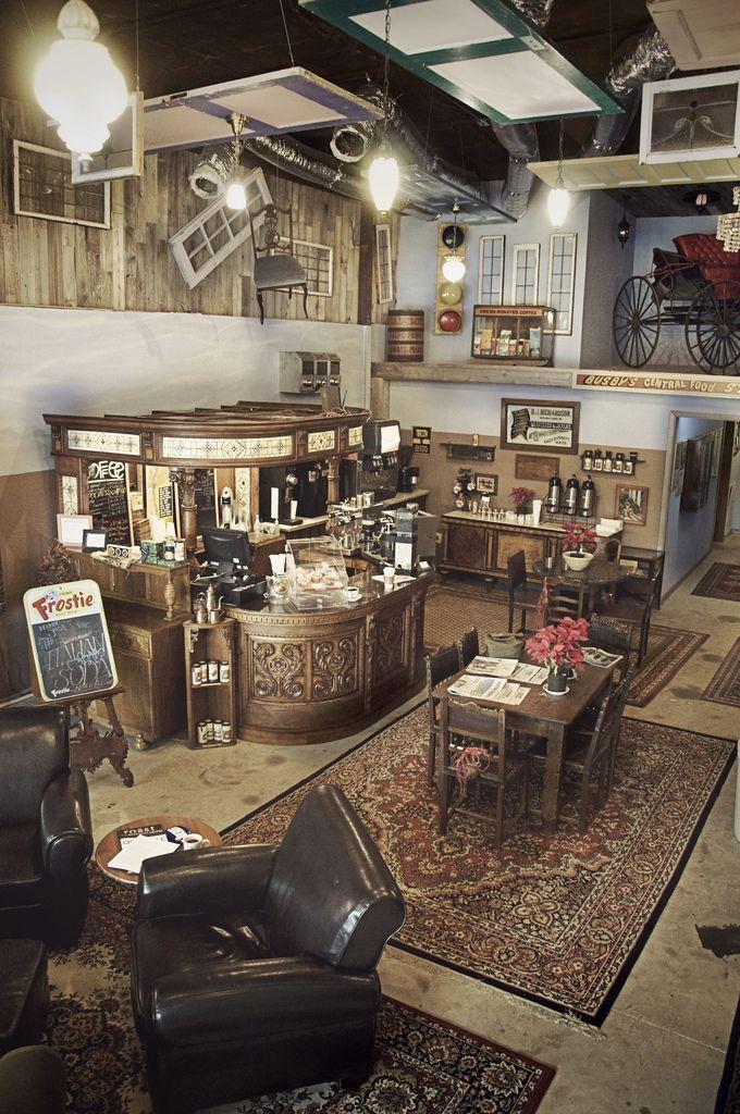 Dosey Doe Coffee Shop — Conroe Texas Petits Commerces Bar Et Café