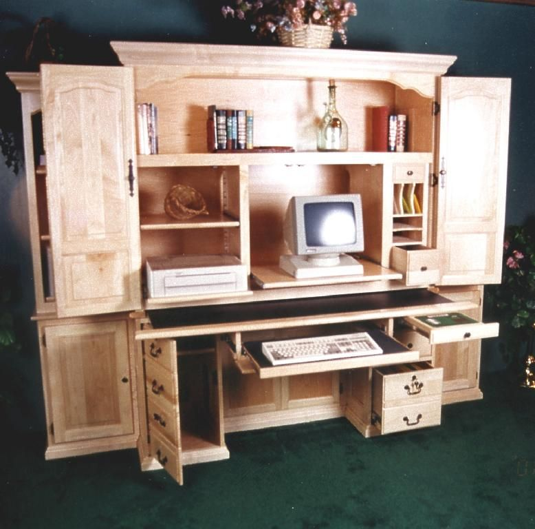 Computer Armoire Desk  For the Home  Pinterest