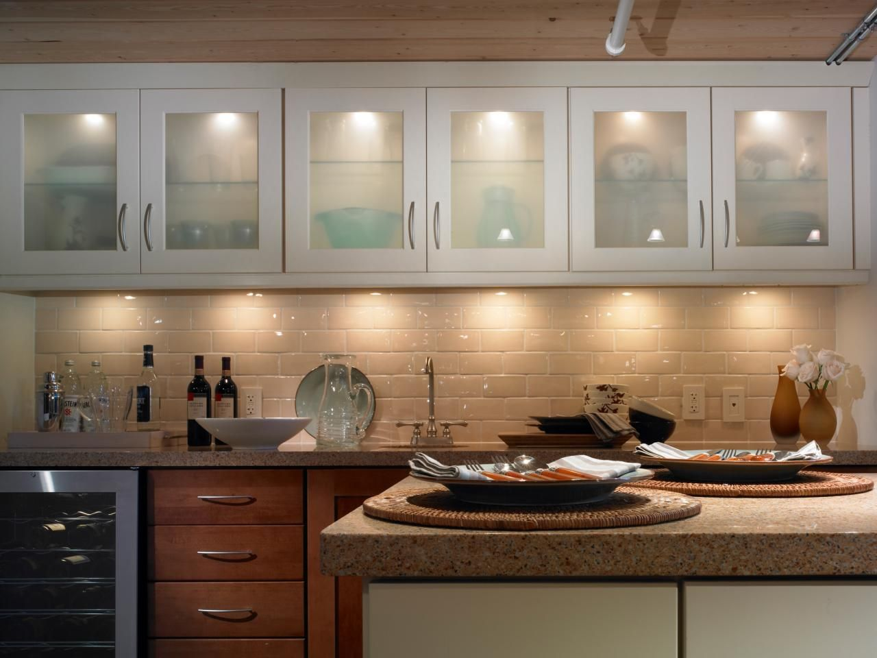 kitchen cabinet lighting ideas lowes farmhouse sink design tips